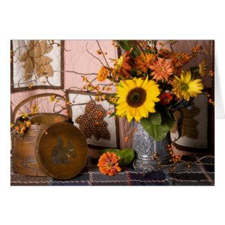4560 Thanksgiving Still Life Greeting Card