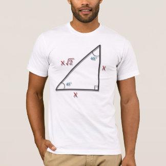 45-45-90 Triangle Formula T-Shirt