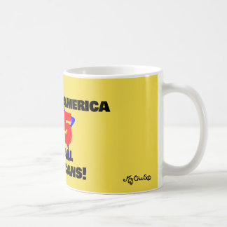 45 A Better America for All! YELLOW MUG! Coffee Mug