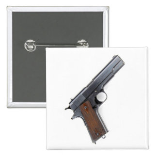 .45 Colt pistol 15 Cm Square Badge