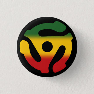 45 Insert Pin: Reggae Version 3 Cm Round Badge