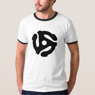 45 Record Adapter T Shirts