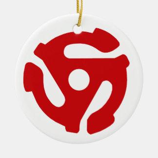 45 Record Ornament