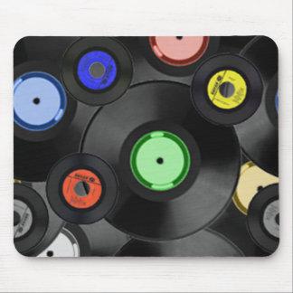 45 Records Mousepad