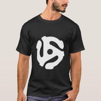 45 RPM ADAPTOR T-Shirt white
