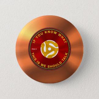 45 rpm Ice Breaker 6 Cm Round Badge