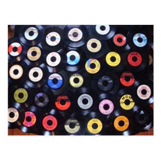 45 rpm postcard