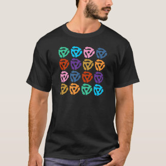 45 RPM Record Adapter Pop Art T-Shirt