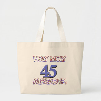 45 year old designs tote bags