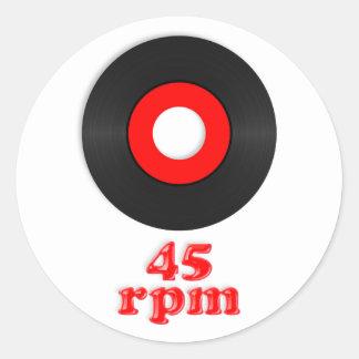 45rpm Sticker
