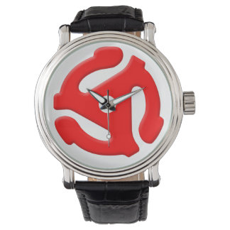 45rpm watch - red