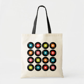 45s Record Budget Tote Bag