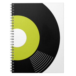 45s Record Notebook (Lime)