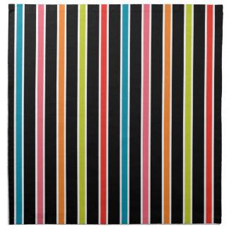 45s Stripes Napkins (Set/4)