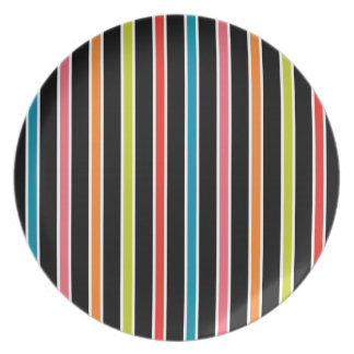 45s Stripes Plate