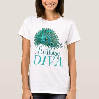 45th Birthday Diva Shirts