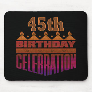 45th Birthday Gifts Mouse Mats