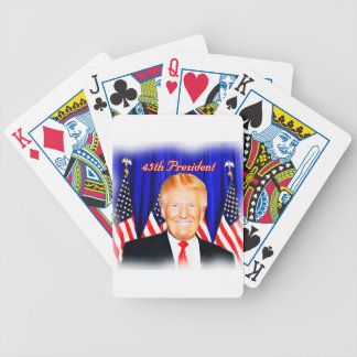 45th President-Donald Trump _ Bicycle Playing Cards