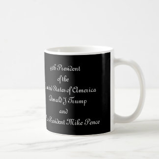 45th President of USA and Vice President Coffee Mug