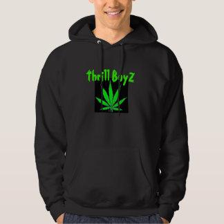 467_pot_leaf, Thrill BoyZ Hooded Pullovers