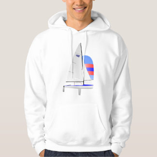 470 Racing Sailboat onedesign Olympic Class Hoodie