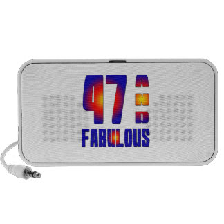 47 And Fabulous Portable Speakers