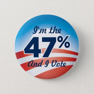 47 Percent Obama Button