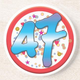 47th Birthday Coaster