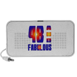 48 And Fabulous Travelling Speaker