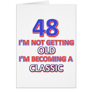 48 birthday designs card