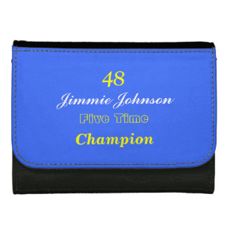 48 Jimmie Johnson five time Champion wallet