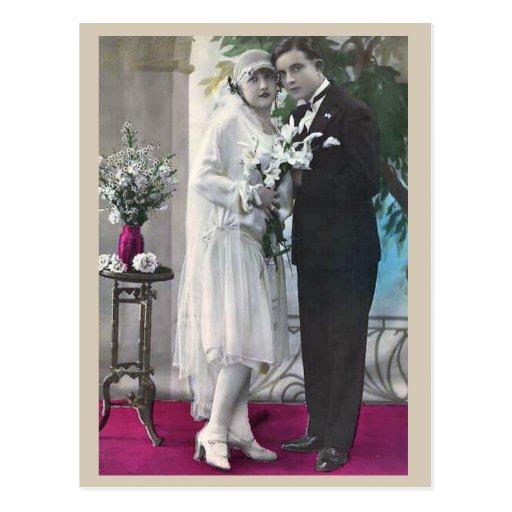 48 Wedding Postcard