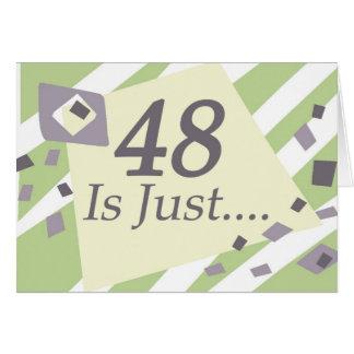 48th Birthday Card