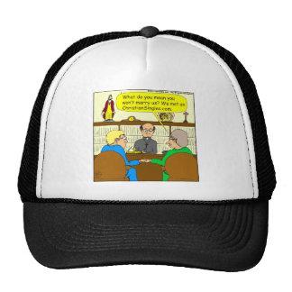 490 christian dating cartoon mesh hat