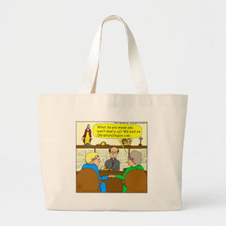 490 christian dating cartoon jumbo tote bag