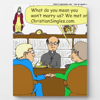 490 christian dating cartoon plaque