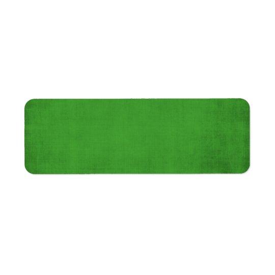 495_green-paper RICH GRASSY GREEN TEMPLATE TEXTURE Return Address Label