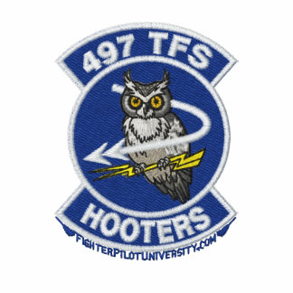 497th TFS Polo W/F-4 and Call Sign (White Only)