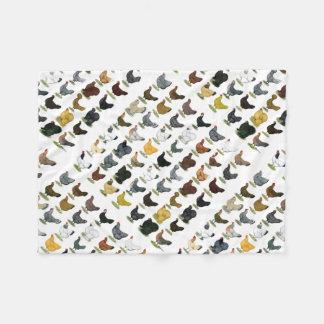 49 Chicken Hens Fleece Blanket