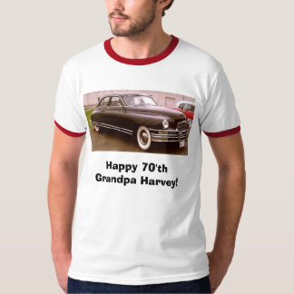 49pack8, Happy 70'th Grandpa Harvey! T-Shirt
