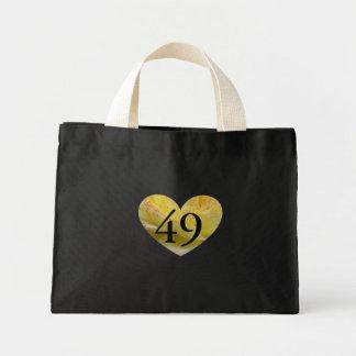 49th Birthday Heart Gift Bag