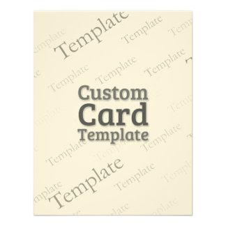 """4.25"""" x 5.5"""" Laid Ivory Invitation Custom Template"""
