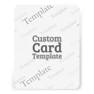 """4.25"""" x 5.5"""" Recycled White Invitation Template"""