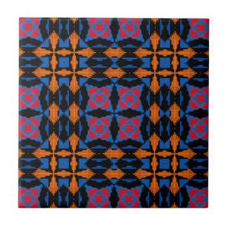 "4.25x4.25"" Tribal/Native American No Minimum Order Small Square Tile"