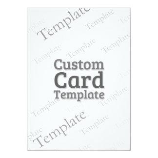 "4.5"" x 6.25"" Invitation Custom Template"
