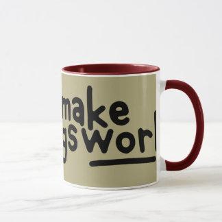 4 A.M. starter upper. Mug