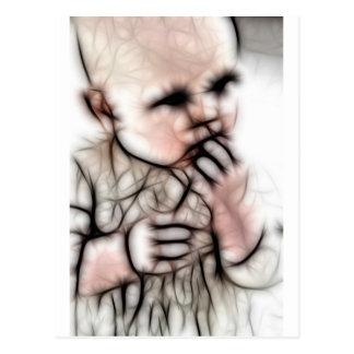 4 - Baby Dark Gear Postcard