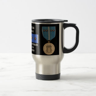 4 BATTLE STARS KOREAN WAR VETERAN COFFEE MUG