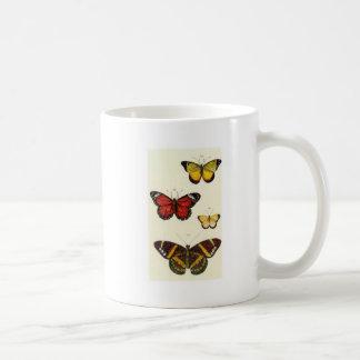 4 butterflies coffee mug