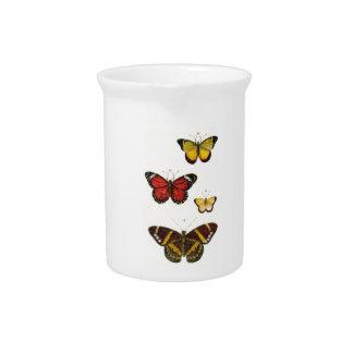 4 butterflies pitcher